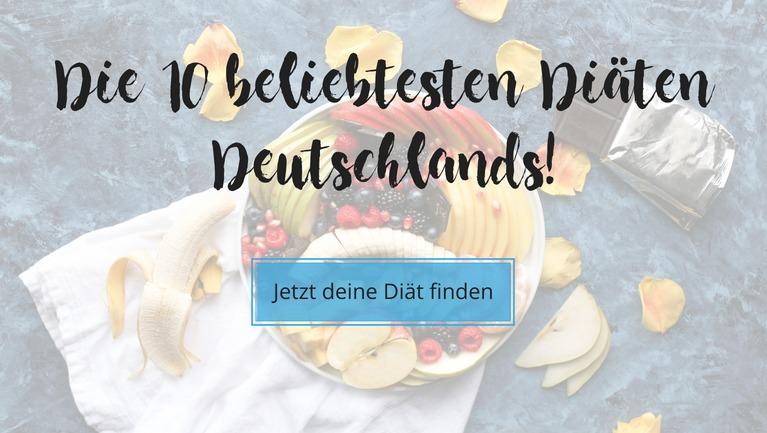 Die 10 beliebtesten Diäten Deutschlands - Welche Diät passt zu mir - Das Quiz