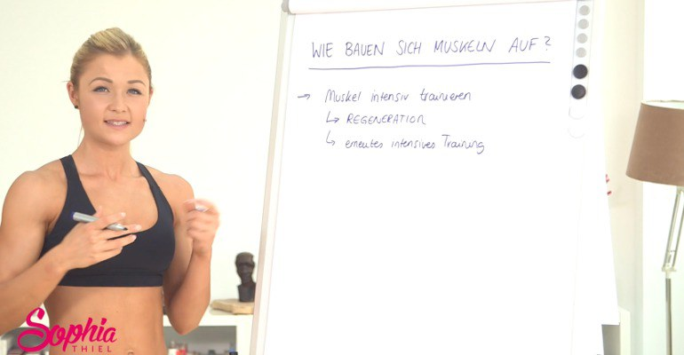 Sophia Thiel Trainingsplan 1 - Meine Sophia Thiel Erfahrungen
