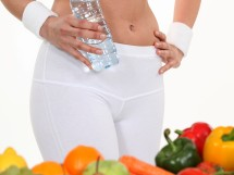 viel Obst und Gemüse für den schlanken Bauch