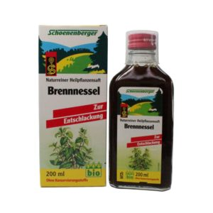 Brennesselsaft Schoeneberger 2 300x300 - Brennesselsaft: Wirkung, Nebenwirkung & Anwendung