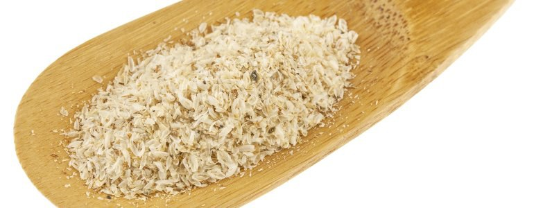 Nahrungsergänzung Flohsamenschalen-Pulver Psyllium
