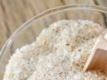 Flohsamenschalenpulver und Flohsamenschalen als Superfood