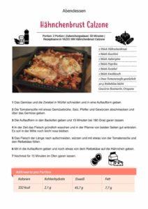 Haehnchenbrust Calzone Rezept 212x300 - Unser Stoffwechselkur Buch