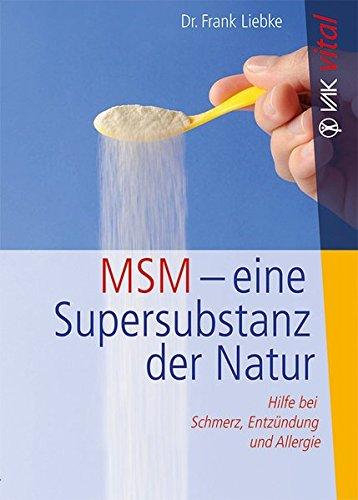 MSM Buch organisher Schwefel - MSM - Was kann der organische Schwefel?