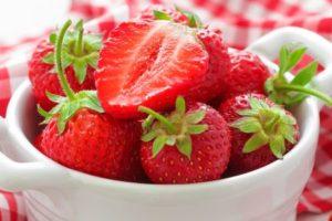 Machen Erdbeeren dick