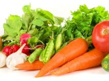 Antipilzdiät Gemüse