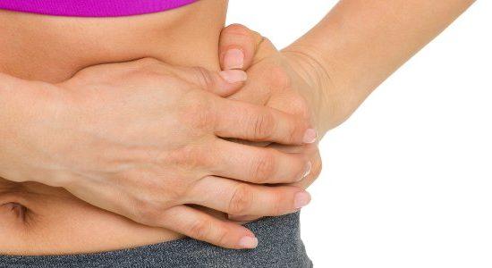 Schmerzhafter Bauchmuskelkater