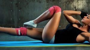 Training für seitliche Bauchmuskeln