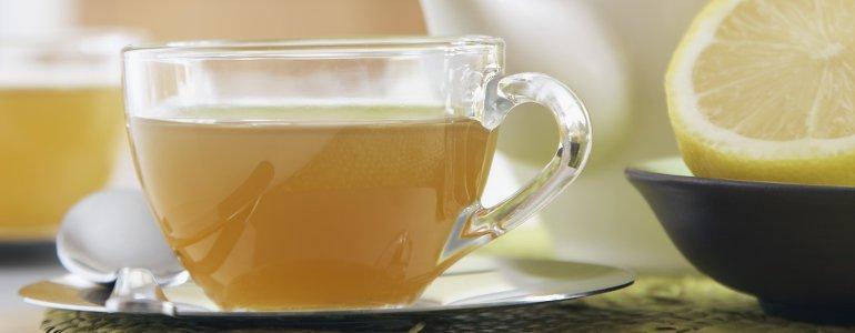 Tee hilft gegen einen Blaehbauch