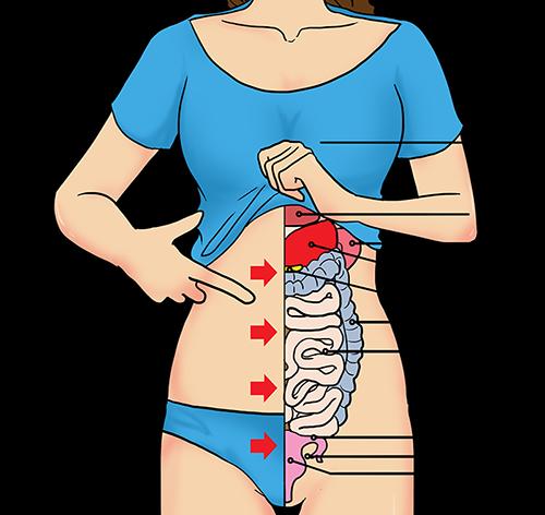 ᐅ GEFAHR: Bauchschmerzen links? Dann ist Handeln gefragt!