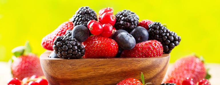 Beeren fuer die Obstdiaet