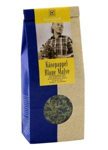 blaue malve tee 217x300 - Malve – Gegen Erkältungen und Hautprobleme