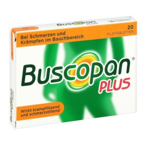 buscopan starke bauchschmerzen links hilfe