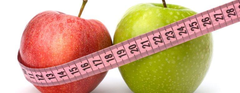 Am Bauch abnehmen mit gesunder Ernaehrung