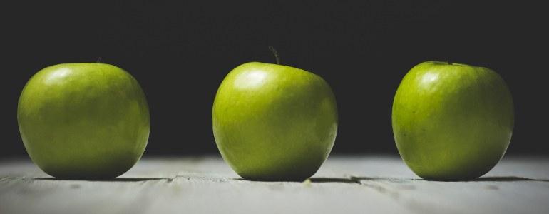 machen Aepfel dick - Machen Äpfel dick?