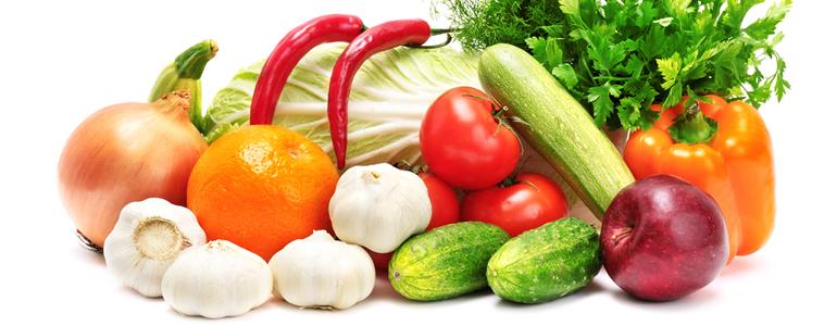 Saeure-Basen-Diaet Lebensmittel