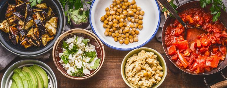 SHRED-Diaet Vielfalt beim Essen